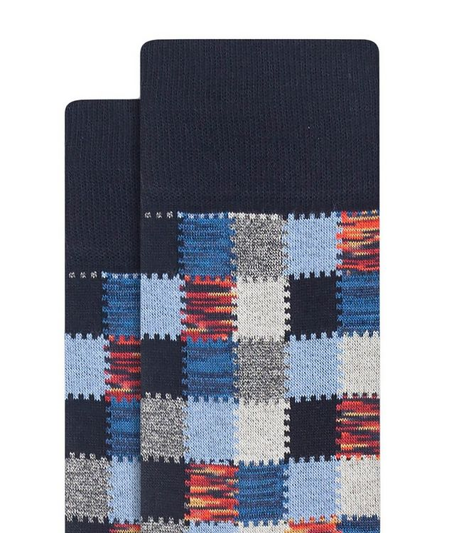 Patchwork Cotton Socks picture 2