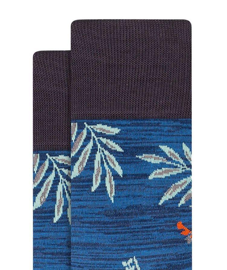 Floral Print Cotton Socks image 1
