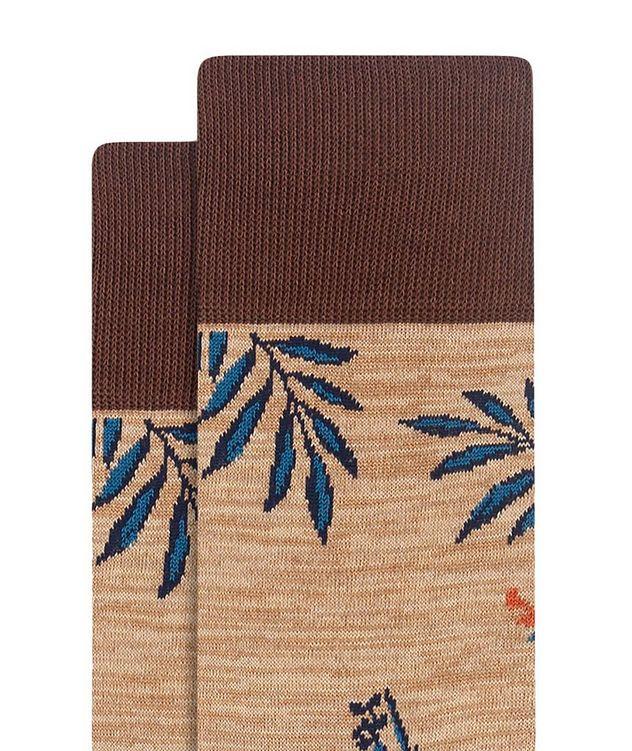 Floral Print Cotton Socks picture 2