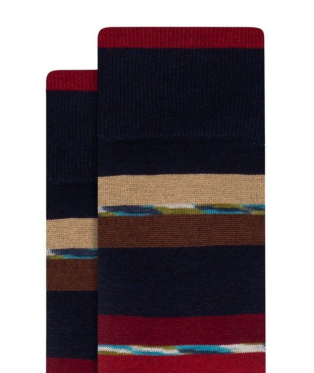 Striped Cotton-Blend Socks picture 2