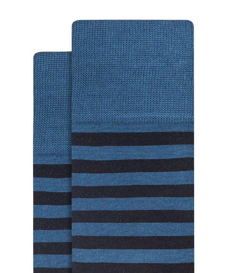 Striped Cotton Socks image 1