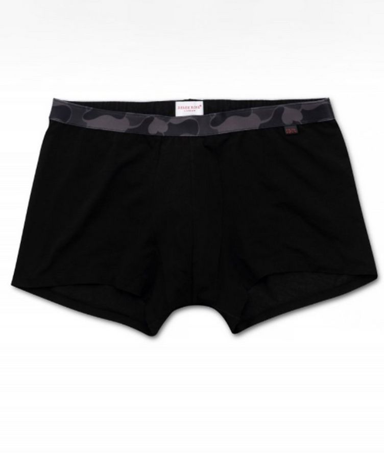 Hipster Stretch-Cotton Boxer Briefs image 0