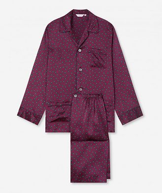 Derek Rose Paisley Silk Pyjamas