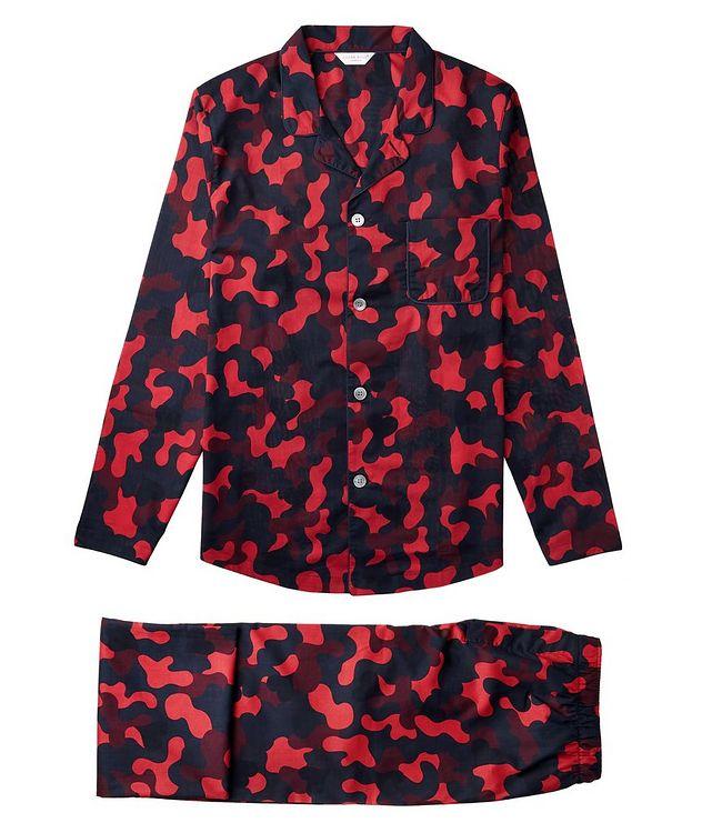 Pyjama en coton à motif camouflage picture 1