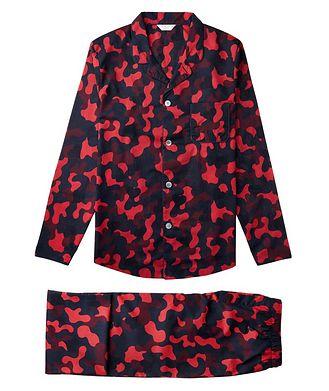 Derek Rose Camouflage Cotton Pyjamas