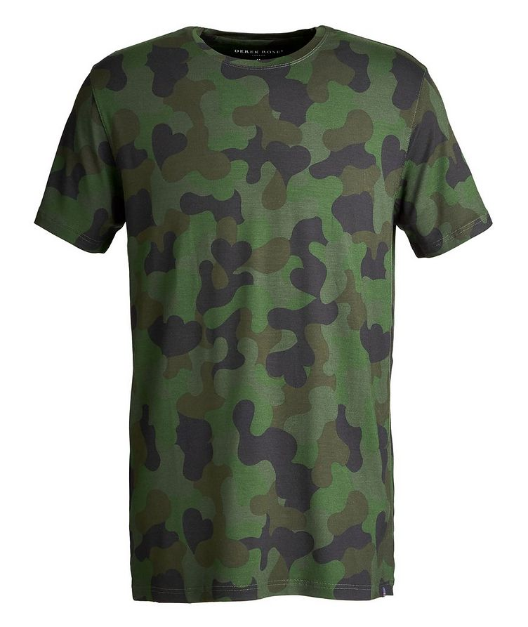 Camouflage-Printed Jersey T-Shirt image 0