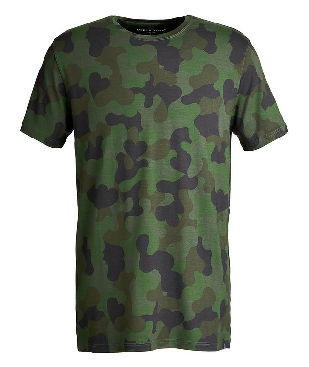 Camouflage-Printed Jersey T-Shirt picture 1