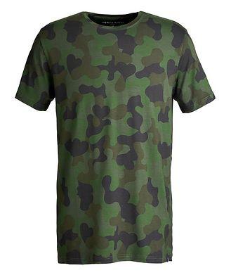 Derek Rose Camouflage-Printed Jersey T-Shirt