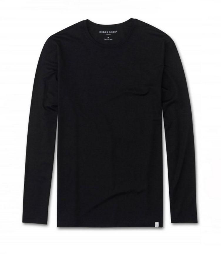 Long-Sleeve Micromodal T-Shirt image 0