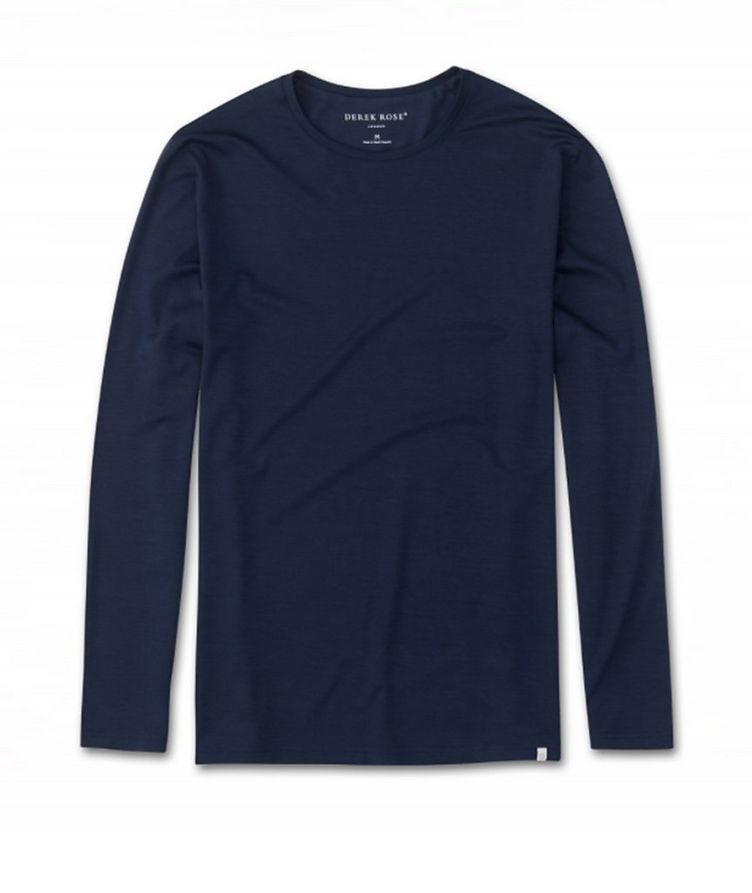 Long-Sleeve Micromodal T-Shirt image 0
