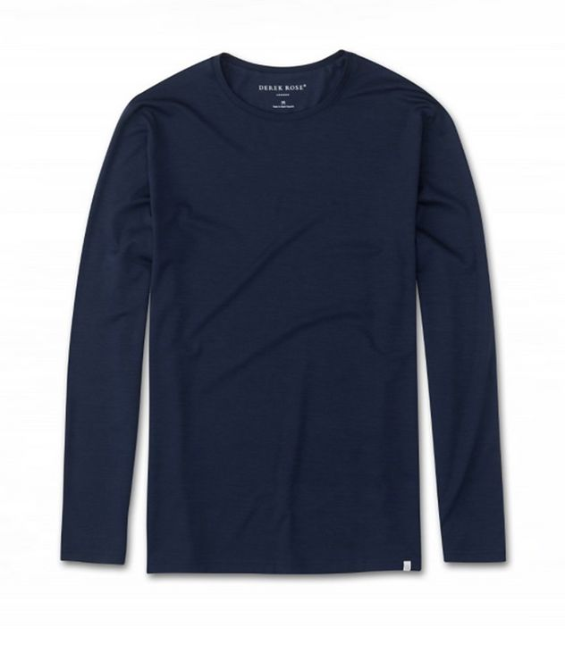 Long-Sleeve Micromodal T-Shirt picture 1