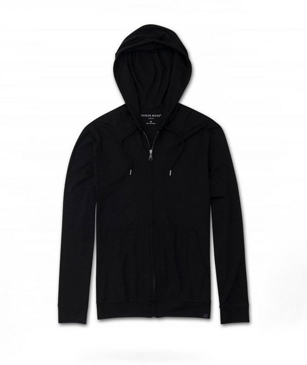 Zip-Up Micromodal Hoodie picture 1