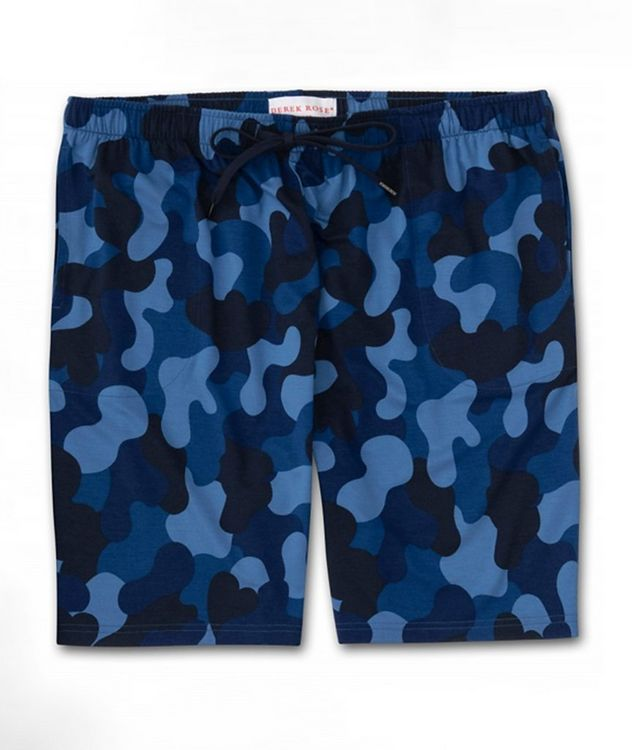 Camouflage-Print Jersey Shorts picture 1