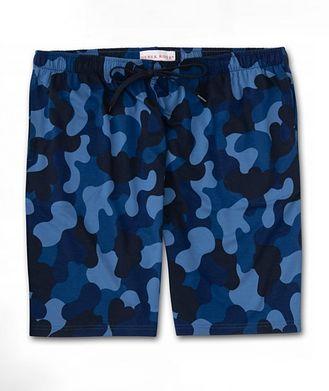 Derek Rose Camouflage-Print Jersey Shorts