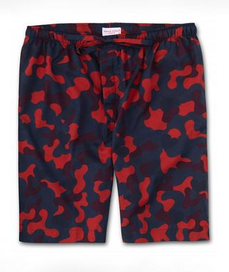 Derek Rose Camouflage Cotton Shorts