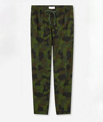 Derek Rose Camouflage Jersey Track Pants