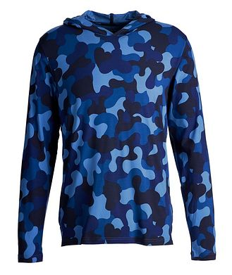 Derek Rose Hooded Long-Sleeve T-Shirt