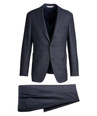 Samuelsohn Madison Windowpane Suit