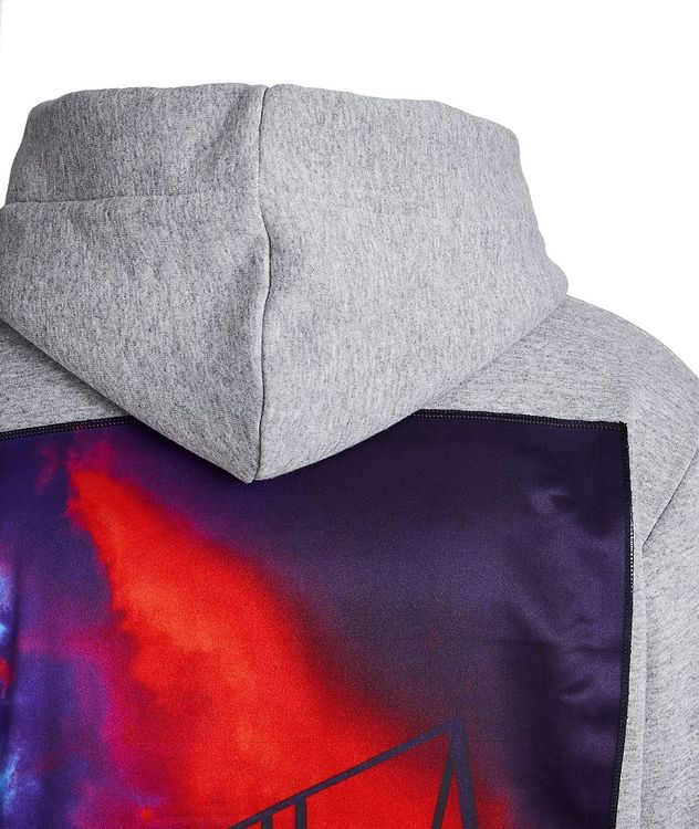 Basketball Court Silk-printed Cotton Hoodie picture 3