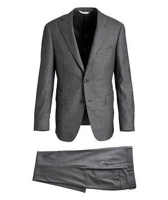Samuelsohn Madison Houndstooth Super 130s Suit
