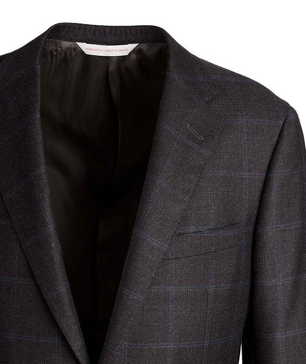 Windowpane-Check Suit picture 2