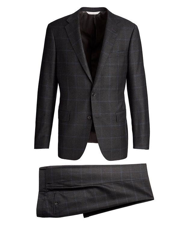 Windowpane-Check Suit picture 1