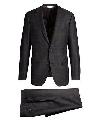 Samuelsohn  Windowpane-Check Suit