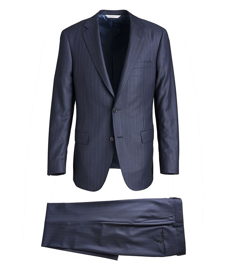 Cosmo Pinstriped Super 150s Suit image 0