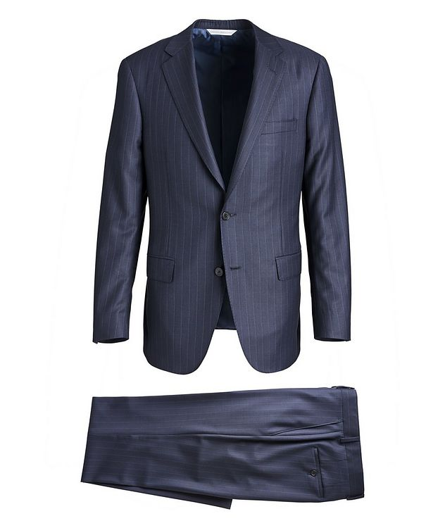 Cosmo Pinstriped Super 150s Suit picture 1