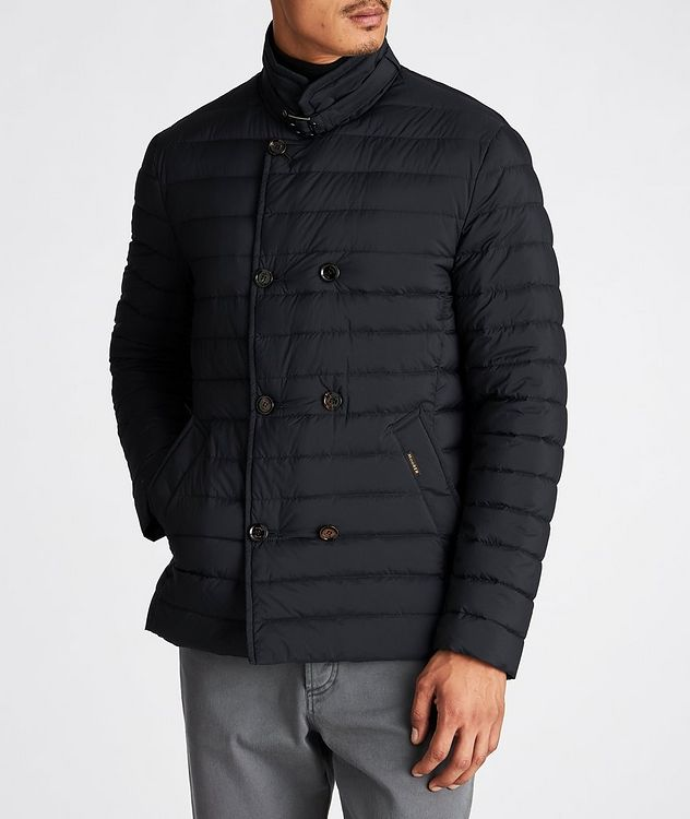Fryderyk Water-Resistant Quilted Peacoat picture 2