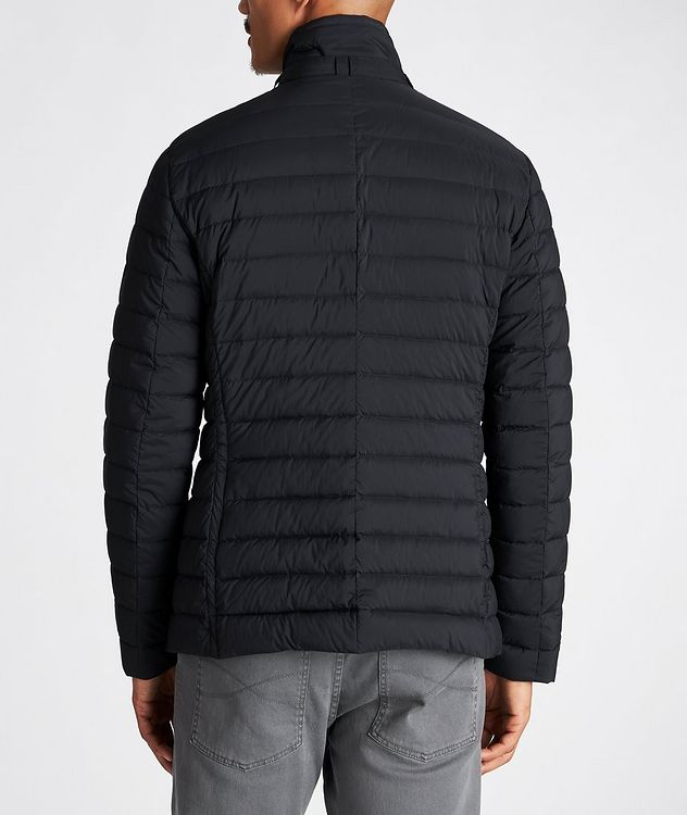 Fryderyk Water-Resistant Quilted Peacoat picture 3