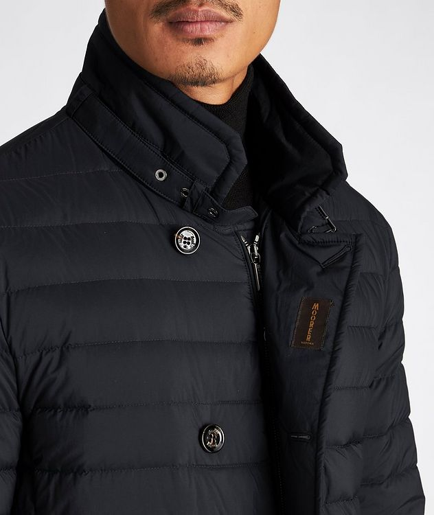 Fryderyk Water-Resistant Quilted Peacoat picture 4
