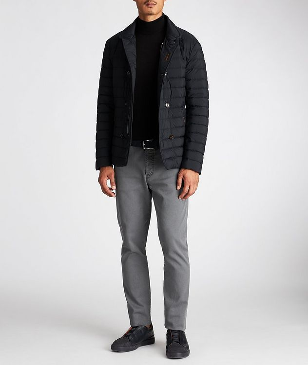 Fryderyk Water-Resistant Quilted Peacoat picture 5