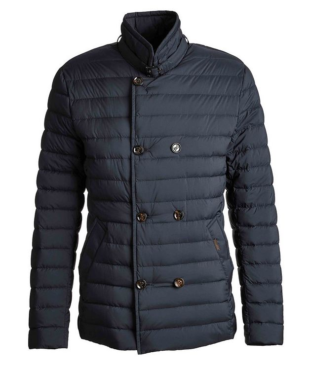 Fryderyk Water-Resistant Quilted Peacoat picture 1