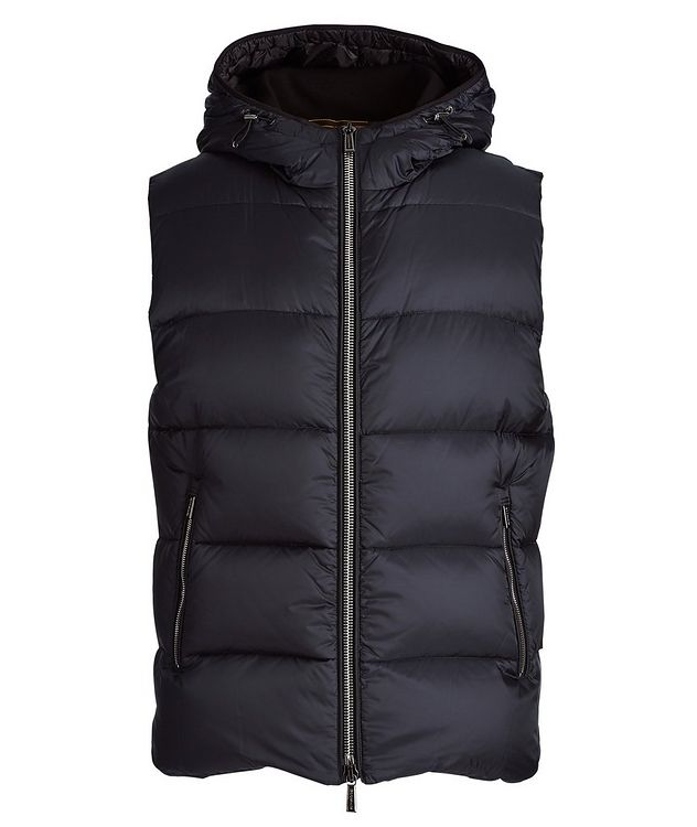 Perseo Hooded Down Vest picture 1