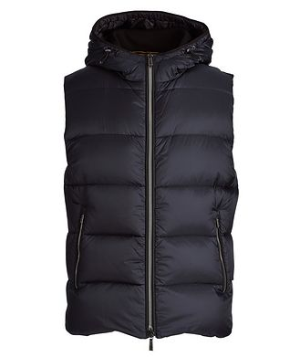 Moorer Perseo Hooded Down Vest