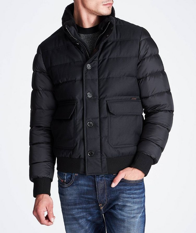 Fantoni Waterproof Bomber Jacket image 1