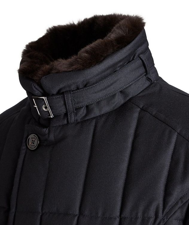 Siro Quilted Wool-Cashmere Jacket picture 3