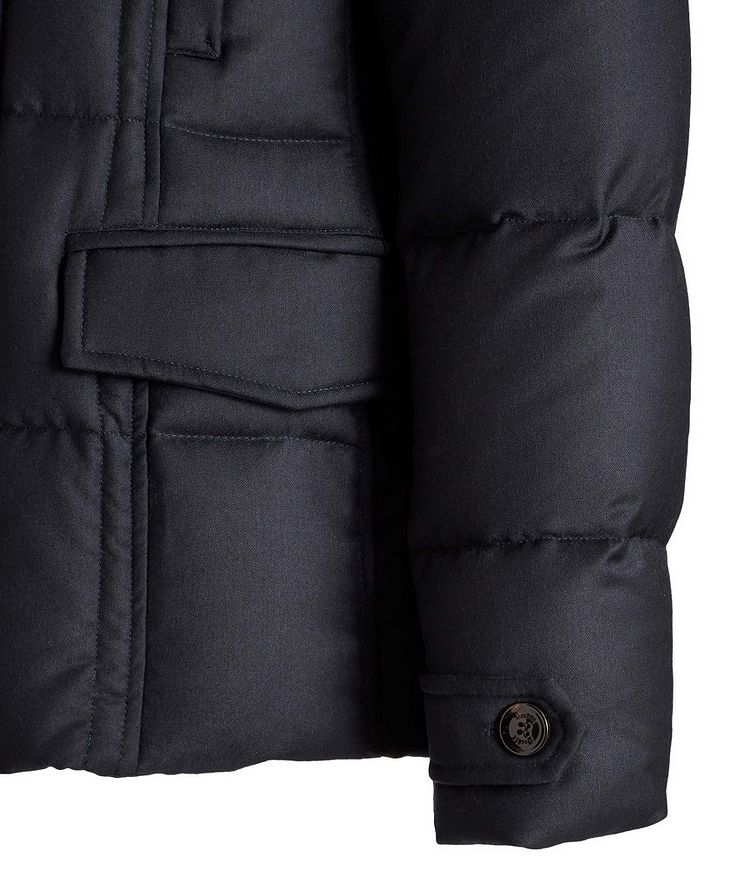 Siro Quilted Wool-Cashmere Jacket image 4