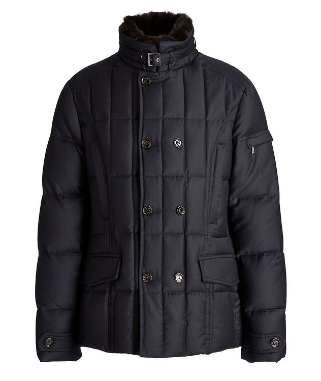 Siro Quilted Wool-Cashmere Jacket picture 1