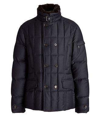 Moorer Siro Quilted Wool-Cashmere Jacket