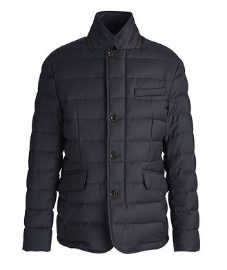 Moorer Zayn Wool-Cashmere Down Jacket