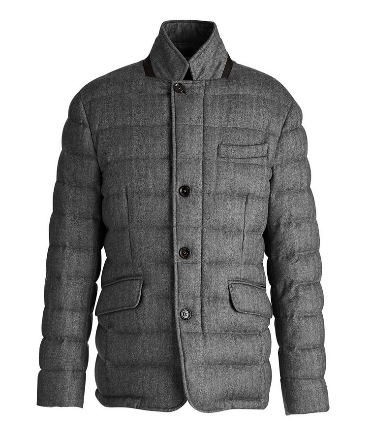 Zayn Wool-Cashmere Down Jacket image 0