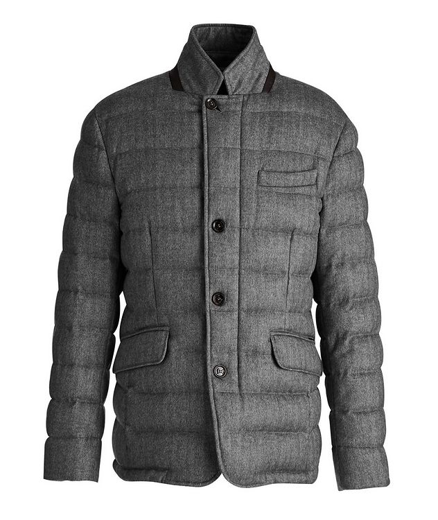 Zayn Wool-Cashmere Down Jacket picture 1