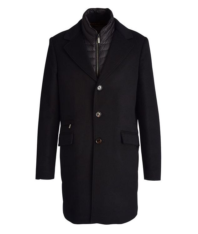 Harris Wool-Cashmere Overcoat picture 1