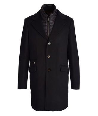 Moorer Harris Wool-Cashmere Overcoat