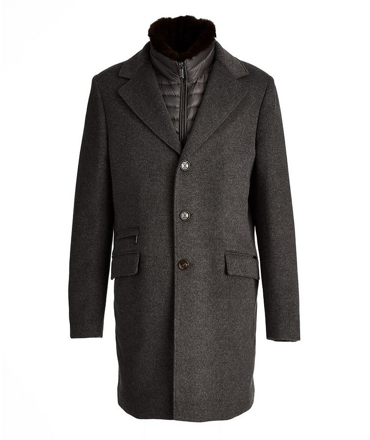 Harris Wool-Cashmere Overcoat image 0