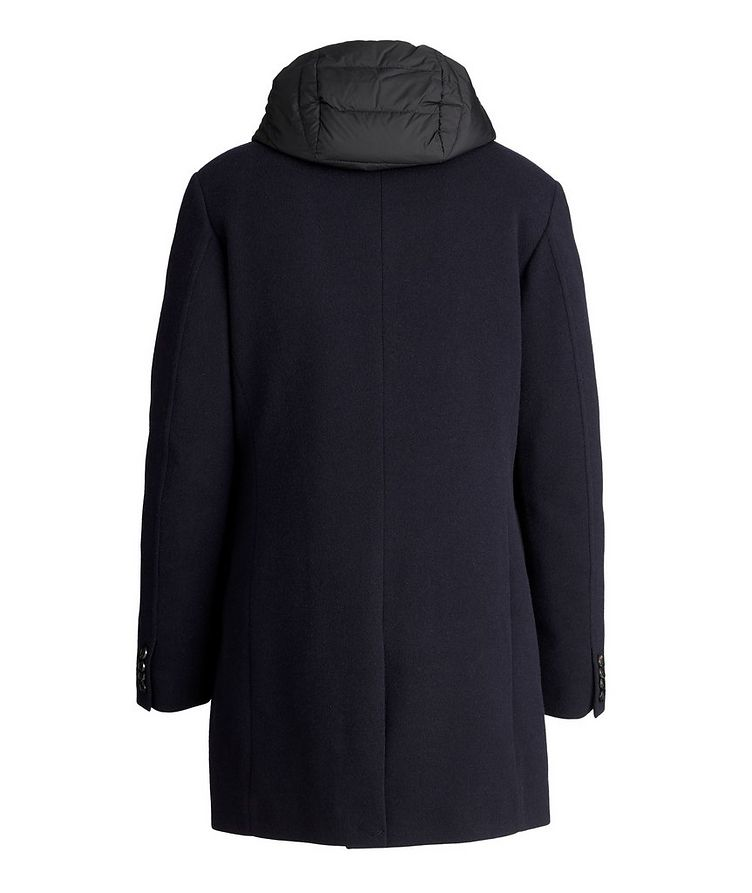 Mitchell Hooded Wool-Down Coat image 1
