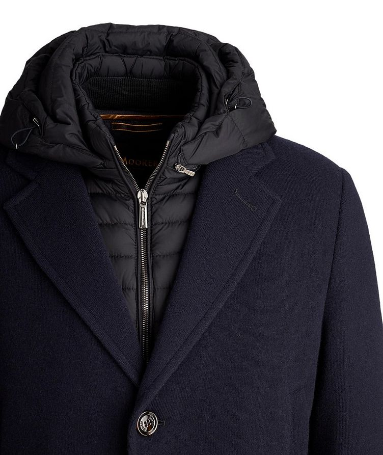 Mitchell Hooded Wool-Down Coat image 2