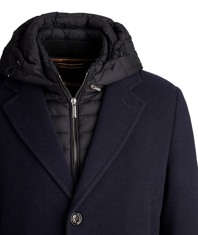 Mitchell Hooded Wool-Down Coat picture 3